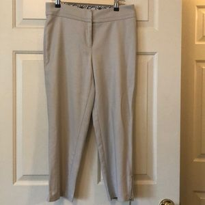 Peter Nygård Khaki colored Ankle Pants Size 8
